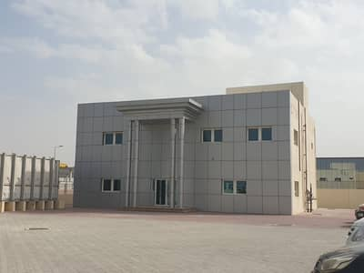 Warehouse for Rent in Technology Park, Dubai - Huge Plot Warehouse with Office for Lease