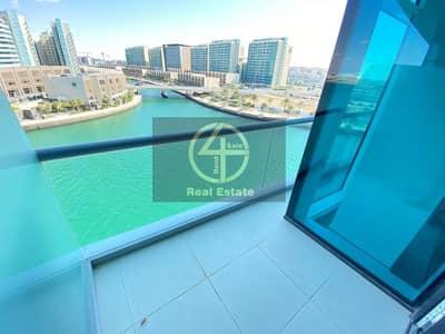 شقة 1 غرفة نوم للايجار في شاطئ الراحة، أبوظبي - Live Luxury | Stunning Full Sea View | Big Balcony
