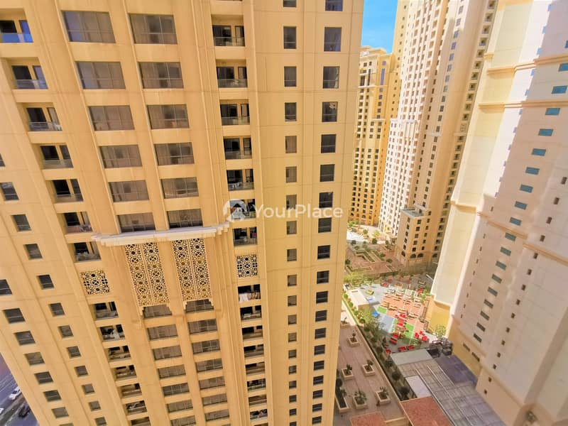 15 Fully Furnished 2 bedroom apartment with Marina view