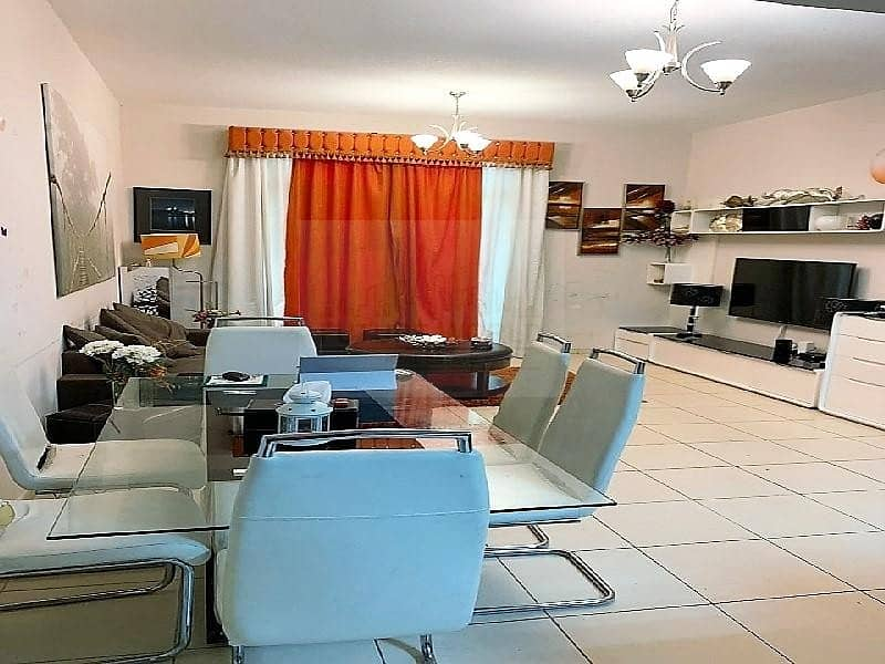 2 Good Price | Huge 1BR converted into 2 Bedroom | Furnished