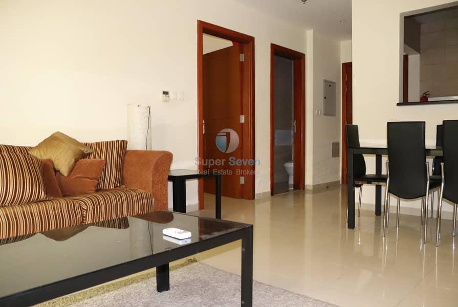 2 Furnished 1 Bed For Rent La Vista 2 (Call Shams)