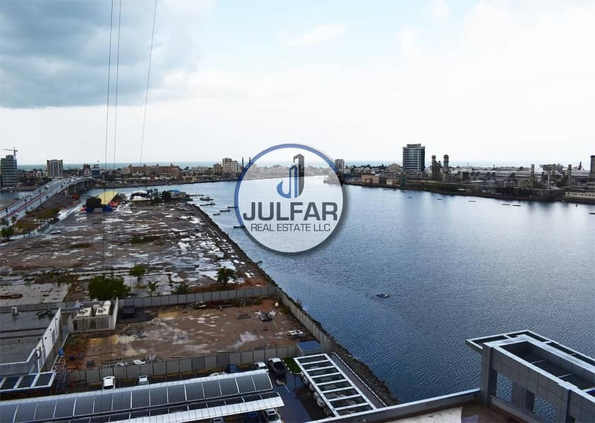 10 *Amazing Sea View 1-BHK FOR RENT In Julphar Tower*