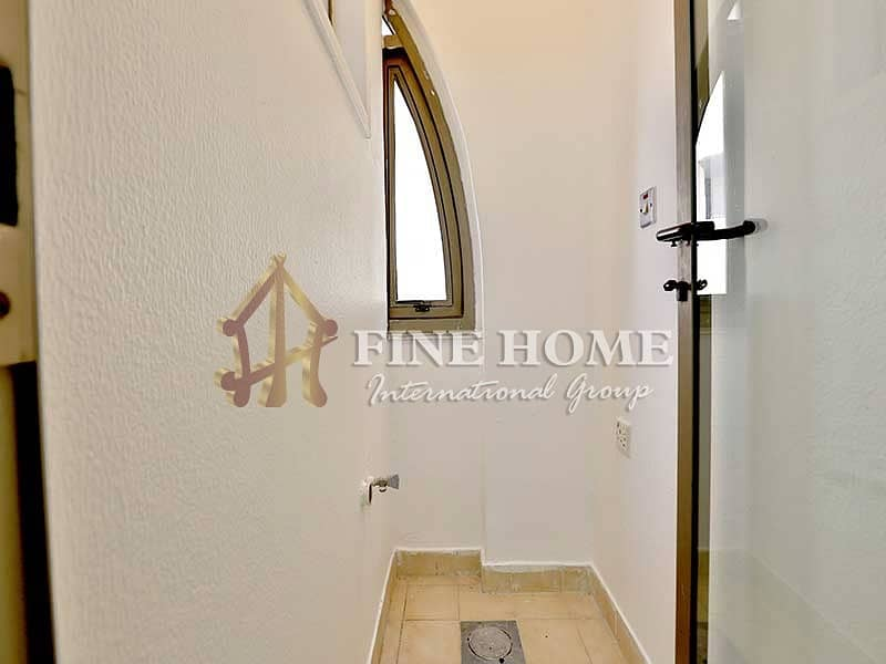 2 Astonishing Well Spaced ! 1BR Apartment in Tourist Club .