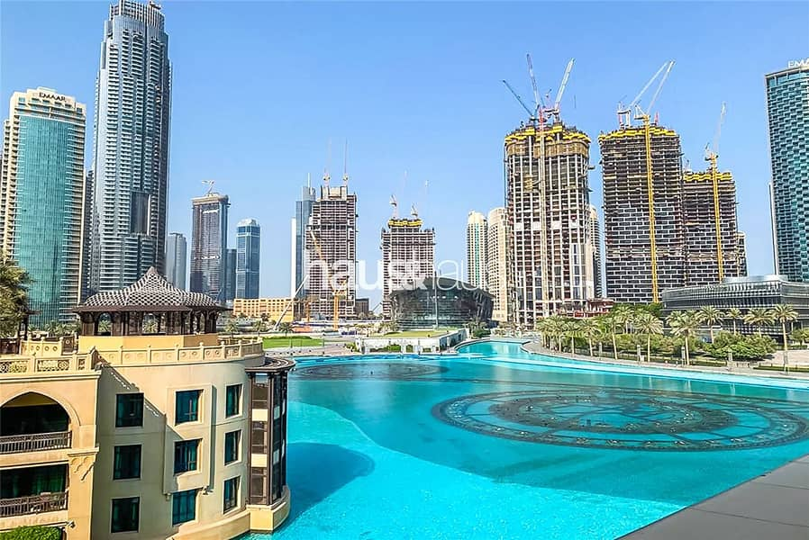 Premium 1 Bed   Al Bahar   Furnished   Burj Views