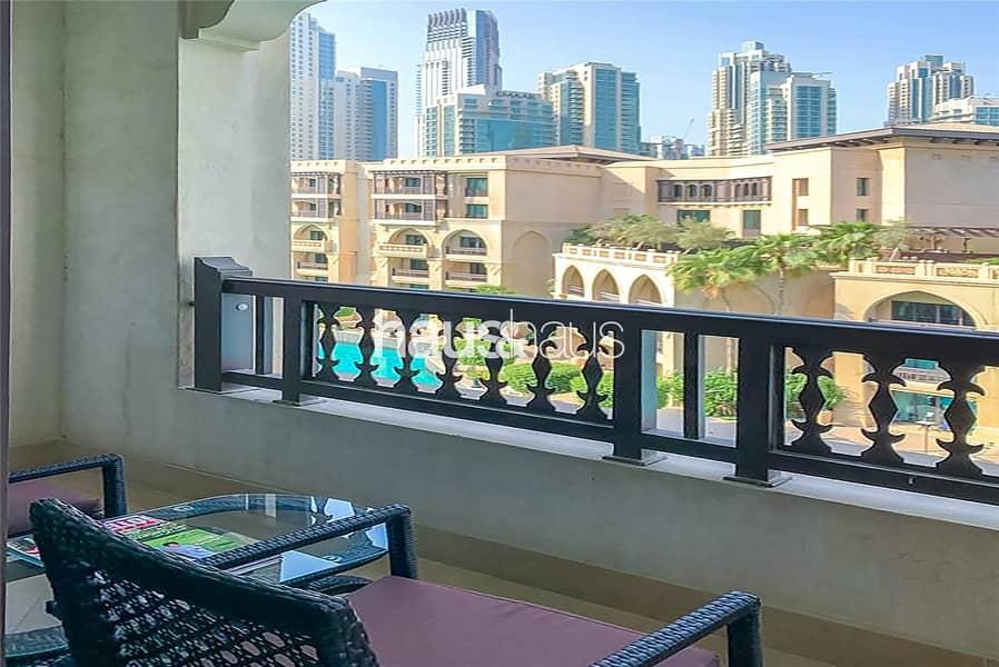 2 Premium 1 Bed   Al Bahar   Furnished   Burj Views