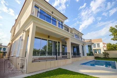 فیلا 6 غرف نوم للايجار في عقارات جميرا للجولف، دبي - Golfer's Dream Home | Earth Golf Course View | Custom Built
