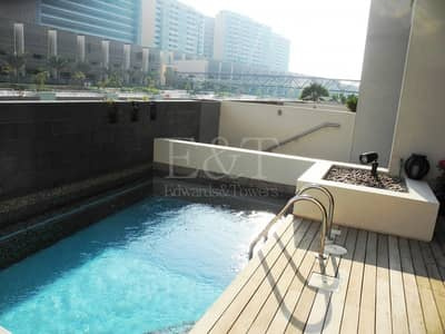 4 Bedroom Townhouse for Rent in Al Raha Beach, Abu Dhabi - CANAL VIEW  TOWNHOUSE   NO COMMISSION   6 CHEQUES