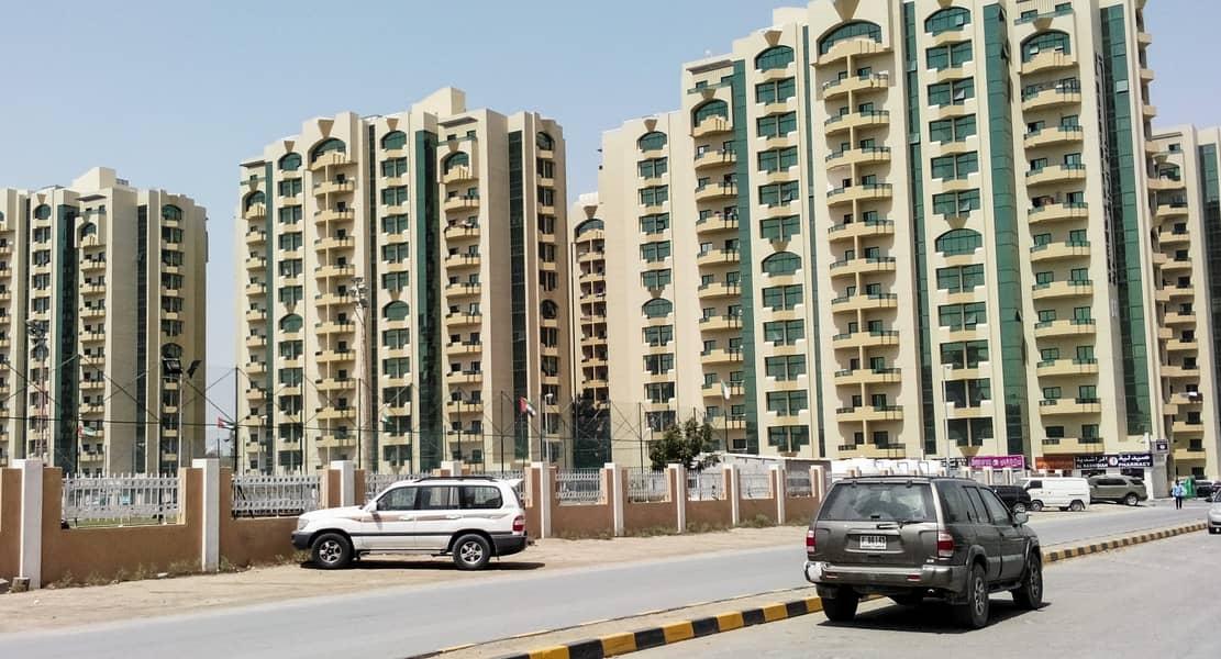 Best Deal! Spacious 1 Bedroom Hall (vacant) in Rashidiya Tower s Ajman