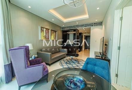 فلیٹ 1 غرفة نوم للايجار في وسط مدينة دبي، دبي - Fully Furnished  Exquisite location  Downtown views