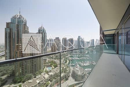 3 Bedroom Apartment for Sale in Dubai Marina, Dubai - Huge Balcony with Marina Views | Unfurnished