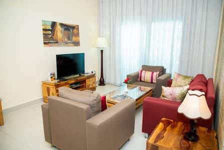 2 Bedroom Apartment for Rent in Al Rashidiya, Ajman - Living room