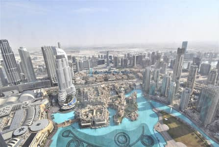 2 Bedroom Apartment for Rent in Downtown Dubai, Dubai - Stunning Fountain View | 2BR + Maids | High Floor