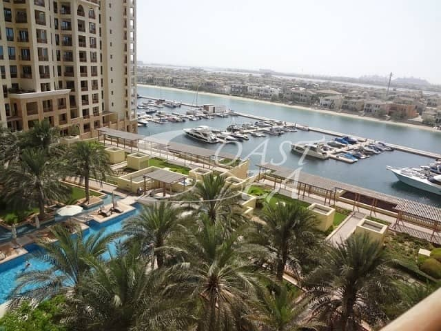 2 For rent semi furnished 2BR apartment Type D Palm Jumeirah