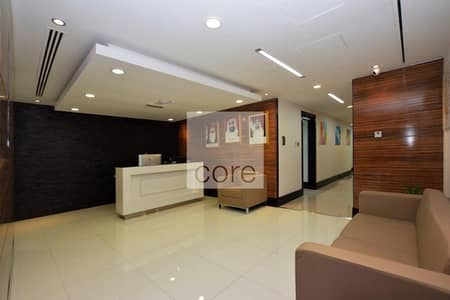 Office for Rent in Hamdan Street, Abu Dhabi - Serviced Office | Fully Furnished | Mid Floor