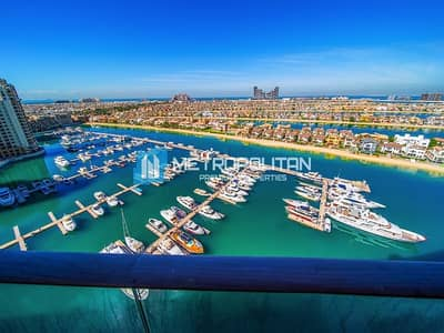 4 Bedroom Penthouse for Rent in Palm Jumeirah, Dubai - Penthouse 4 BR with panoramic view of sea and Palm