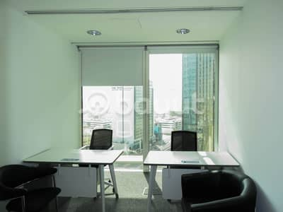 Office for Rent in Bur Dubai, Dubai - New-Age Luxury Smart Offices in the Heart of Dubai Surrounded by Exquisite Beauty High Floor Breathtaking View