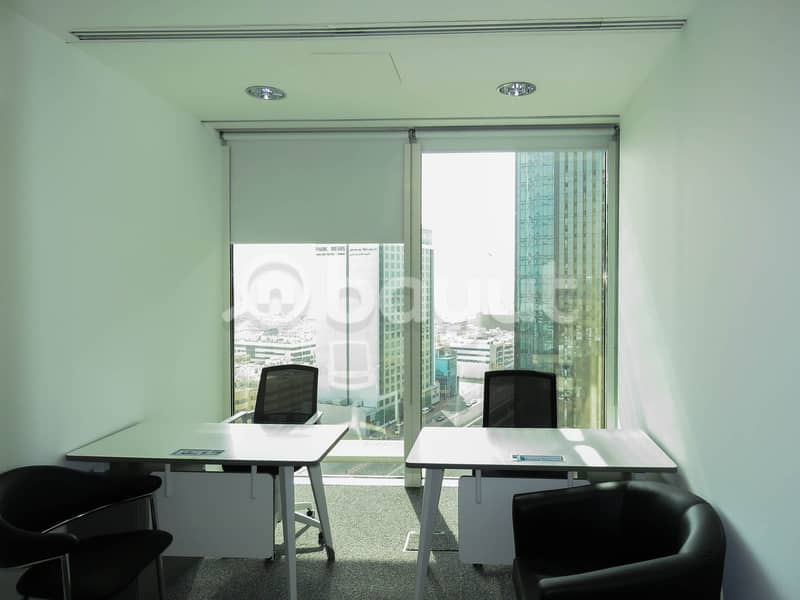 New-Age Luxury Smart Offices in the Heart of Dubai Surrounded by Exquisite Beauty High Floor Breathtaking View