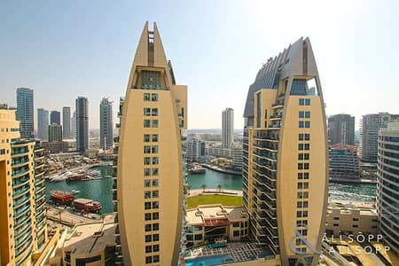 2 Bedroom Flat for Sale in Jumeirah Beach Residence (JBR), Dubai - Vacant On Transfer | Marina View | Storage