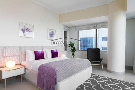 شقة 2 غرفة نوم للايجار في دبي مارينا، دبي - FURNISHED 2BR On a High Floor In Ocean heights Dubai Marina