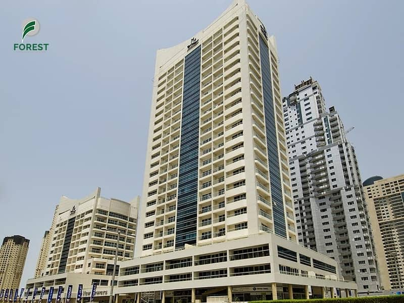 10 Well Maintained 1 Bed with Marina View | Vacant