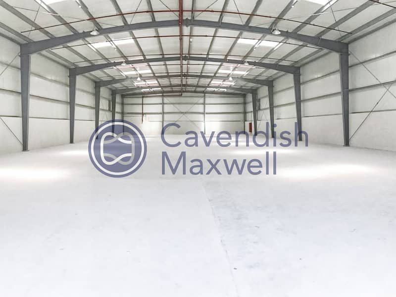 Warehouse with Integrated Alarm System | DIP