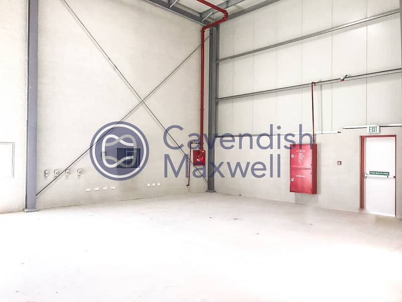 2 Warehouse with Integrated Alarm System | DIP