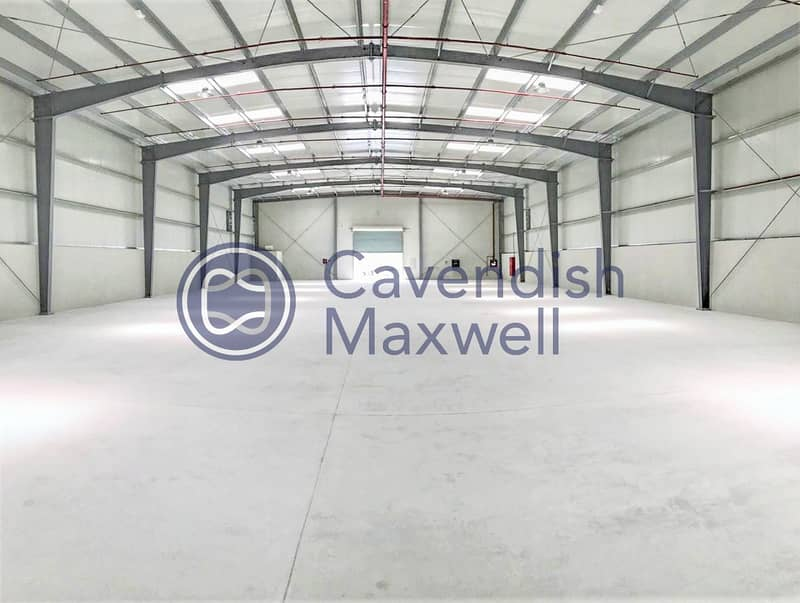 10 Warehouse with Integrated Alarm System | DIP