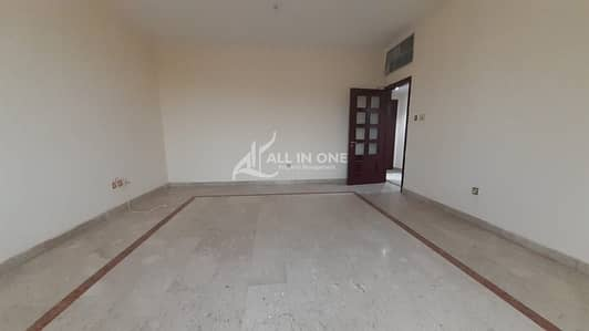 3 Bedroom Flat for Rent in Al Najda Street, Abu Dhabi - Huge Size 3BR with Balcony in 4 Pays!
