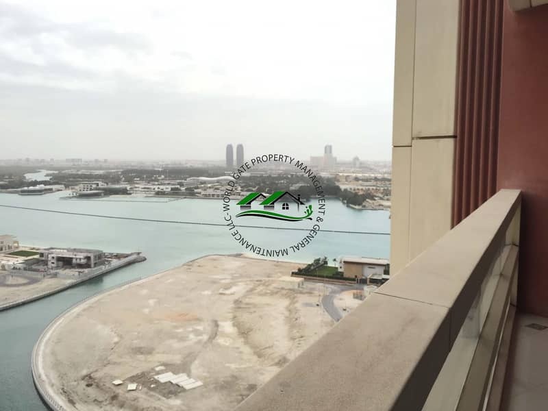 One Month Free! Amazing 2BR wi/ balcony and complete amenities in Reem Island