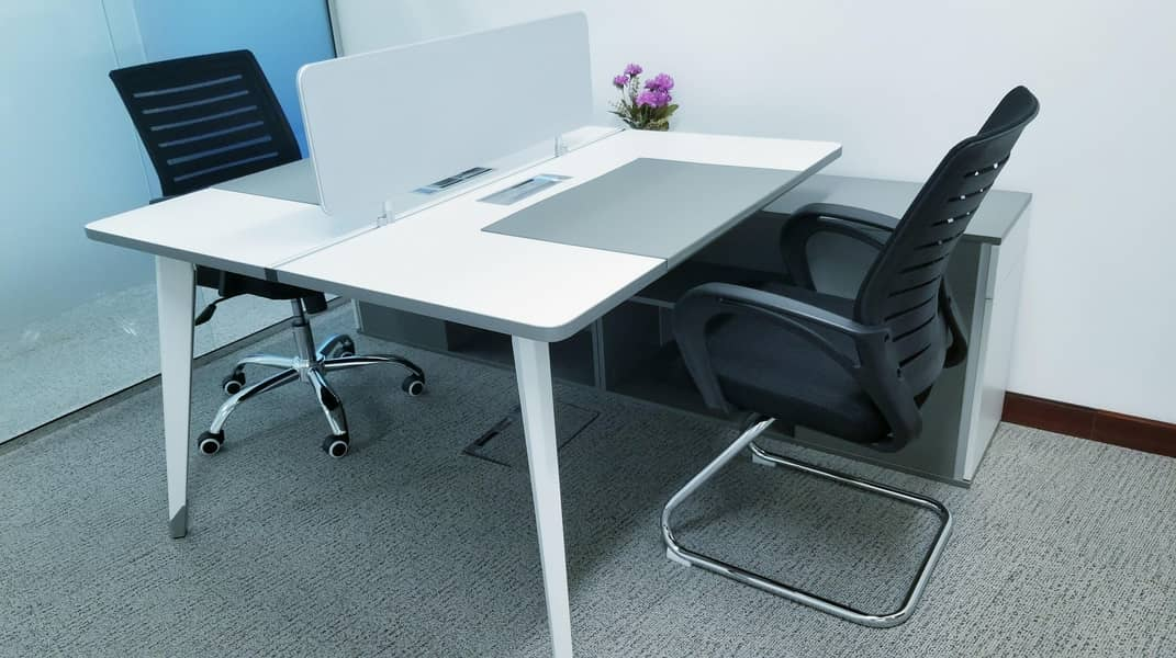 2 Stunning Flexi Desk Office with Fantastic Location | Fully Furnished| Fully Serviced|Near to Metro|with Tenancy Contract