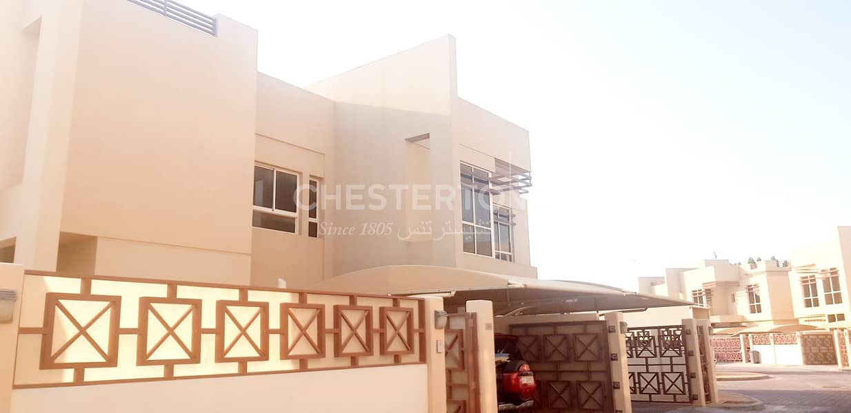 2 4 Bedroom Villa inside compound with security