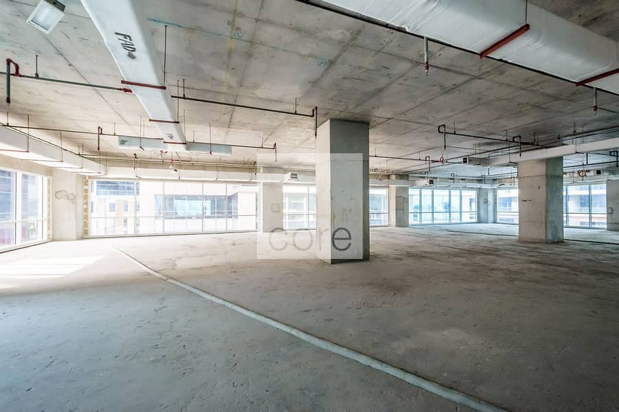 Shell and Core | Vacant | Combined Full Floor
