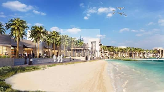 1 Bedroom Flat for Sale in Al Mamzar, Sharjah - The first project on the waterfront