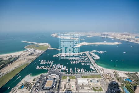 فلیٹ 2 غرفة نوم للبيع في دبي مارينا، دبي - Must See | Impressive Sea View | High Floor