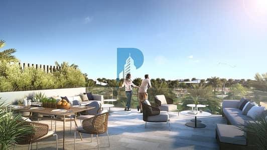 3 Bedroom Villa for Sale in Dubai Hills Estate, Dubai - Private Rooftop | 2% Post Handover | Pool and park view