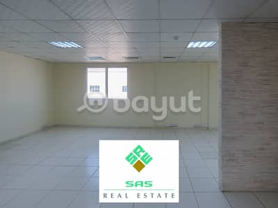Office for Rent in Nad Al Hamar, Dubai - FITTED OFFICE IN MEZZANINE FLOOR