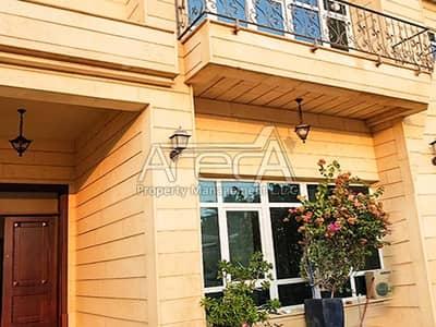 7 Bedroom Villa for Rent in Al Bateen, Abu Dhabi - Fantastic Value for 7 Bed pool villa   Balcony + Courtyard