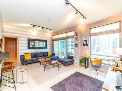 1 Bedroom Flat for Sale in Dubai Marina, Dubai - | Pristine 5 Star Unit | Vacant on Transfer