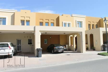 3 Bedroom Villa for Rent in Arabian Ranches, Dubai - Backing Park Near To Pool | Available 1st March