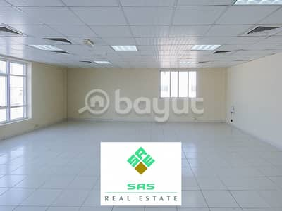 Office for Rent in Nad Al Hamar, Dubai - OFFICE IN MEZZANINE FLOOR