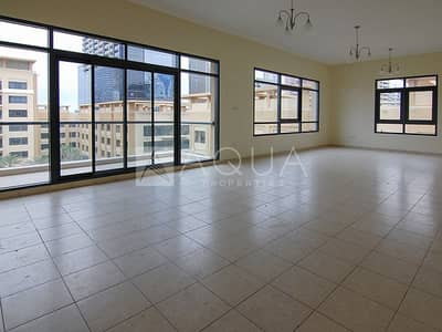 3 Bedroom Flat for Rent in The Greens, Dubai - Chiller Free   Garden View   3 Bed + Study Room