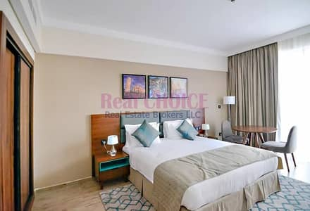 Hotel Apartment for Rent in Jumeirah Village Circle (JVC), Dubai - Fully Furnished Studio|4 Star Hotel Apartment