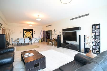3 Bedroom Flat for Rent in Dubai Marina, Dubai - Upgraded fully furnished chiller free 3 bedrooms for rent