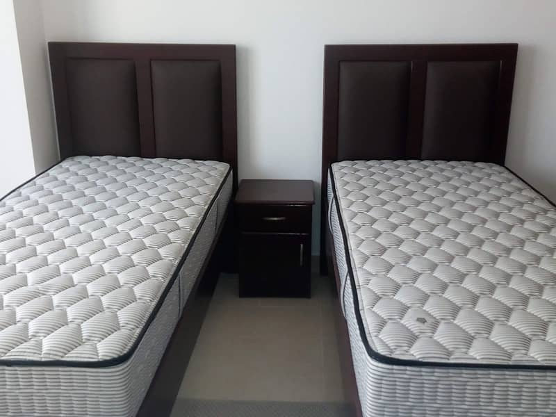 10 Fully Furnished 2 Bedroom | Escan Tower | Free A/C 75k