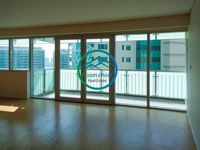 4 Bedroom Flat for Rent in Al Raha Beach, Abu Dhabi - Lake View Apt with No Commission