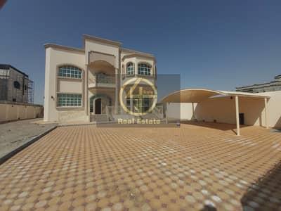 فیلا 5 غرف نوم للايجار في جنوب الشامخة، أبوظبي - Awesome Individual 5 BR Villa 2 Majlis