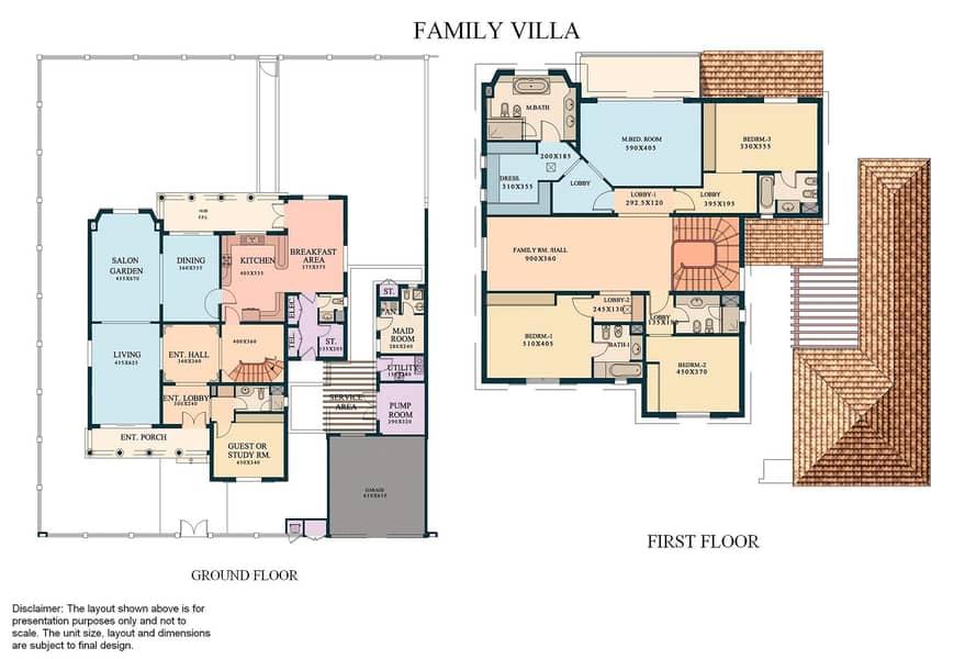 10 500 Sq. Ft. PLOT | 5 Bed Family Villa