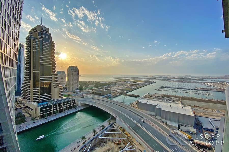 2 Sea And Marina Views | Rented | One Bed
