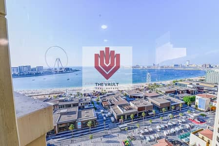 3 Bedroom Flat for Rent in Jumeirah Beach Residence (JBR), Dubai - Chiller Free   Full Sea View   Fully Furnished