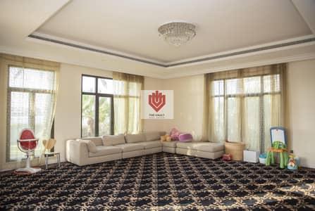 فیلا 6 غرف نوم للايجار في نخلة جميرا، دبي - Frond M | Semi-Furnished | Full Sea View